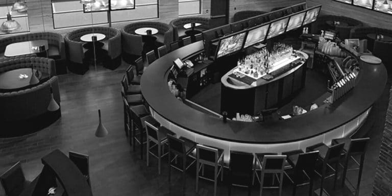 Calgary Deerfoot Meadows Shark Club Sports Bar and Grill Interior View